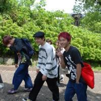 次は夏目漱石 内坪井旧居に向かいます